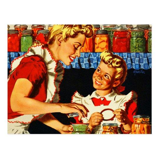 Vintage Retro Kitsch War Poster Canning Mum &