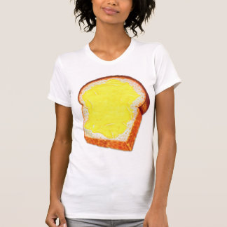 Vintage Retro Kitsch White Bread & Butter T-Shirt