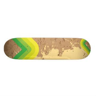 Vintage Retro Lines Layout Skate Board Decks