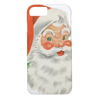 Vintage Retro Santa Claus iPhone 8/7 Case