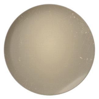 Vintage Retro Sepia Color Old Paper Grunge Party Plate