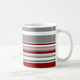 Vintage Retro Stripes Pattern - Mugs