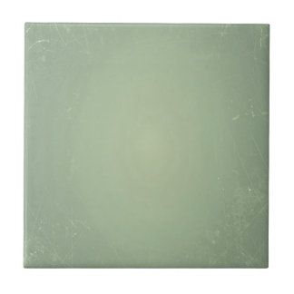 Vintage Retro Style Shabby Mint Green Background Small Square Tile