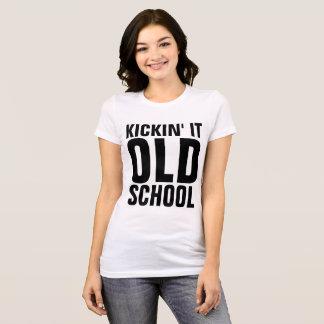 Vintage Retro t-shirts,  KICKIN' It TOLD SCHOOL T-Shirt
