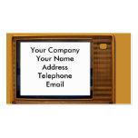 Vintage Retro Television Business Card
