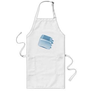 Vintage Retro Toaster Design - Blue Aprons