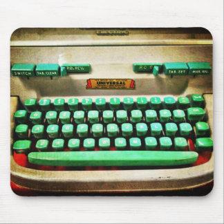 Vintage Retro Typewriter Mouse Mat