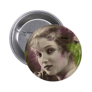 Vintage Retro Women 20s Hollywood Alice Joyce Pinback Buttons