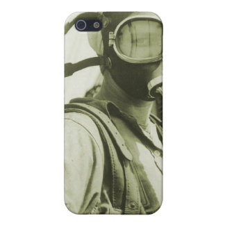 Vintage Retro Women 40s WW2 Military Gas Masks iPhone 5 Covers