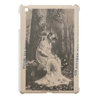 Vintage Retro Women French Young Woman iPad Mini Case