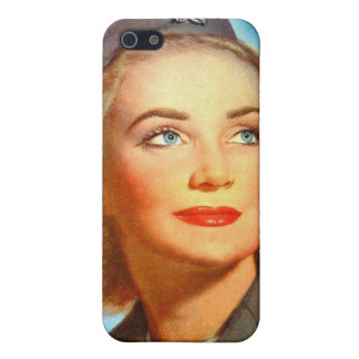 Vintage Retro Women Military U S Nurse Corp Cover For iPhone 5