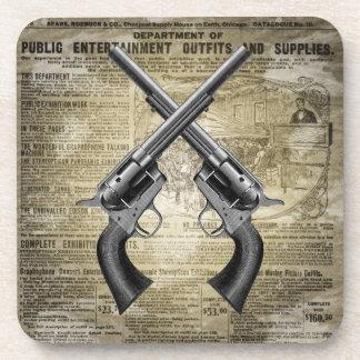 Vintage Revolvers Coaster