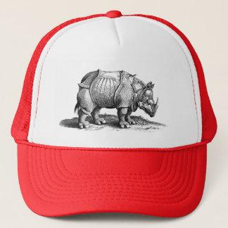 Vintage Rhino - Dürer's Rhinoceros Trucker Hat
