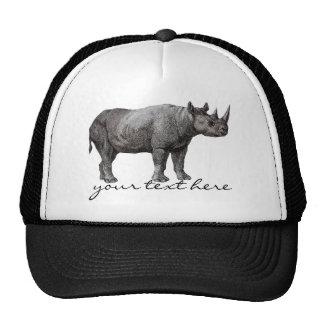 Vintage Rhino Hat