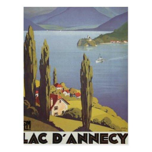Vintage Rhône-Alpes, Annecy , France - Post Card