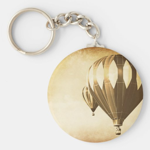 Vintage Ride in the Sky Keychain
