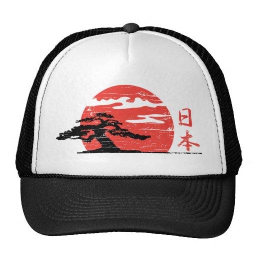 Vintage Rising Sun Mesh Hats