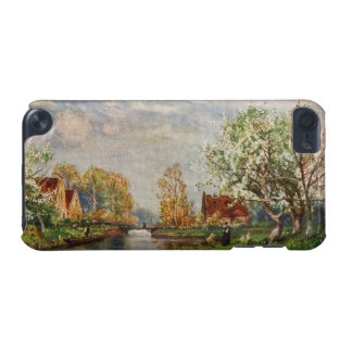 Vintage River Landscape and A Woman iPod Touch (5th Generation) Covers
