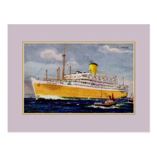 Vintage RMS Orion Postcard