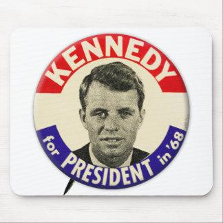 Vintage Robert Kennedy For President Pin 1968 Mousepads