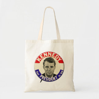 Vintage Robert Kennedy For President Pin 1968 Tote Bags