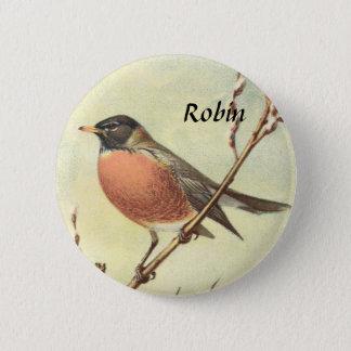 Vintage Robin Button