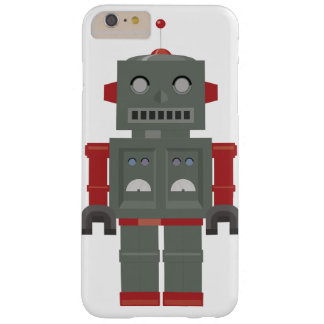 Vintage Robot Barely There iPhone 6 Plus Case