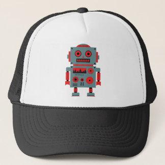 Vintage robot illustration Cap