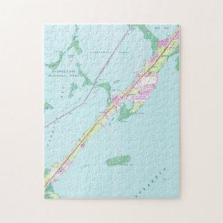Vintage Rock Harbor Florida Map (1947) Jigsaw Puzzle