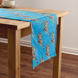 Vintage Rockabilly Fairy Short Table Runner