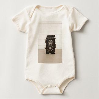 Vintage Rolleiflex Twin lens camera Baby Bodysuit