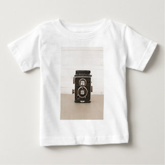 Vintage Rolleiflex Twin lens camera Baby T-Shirt