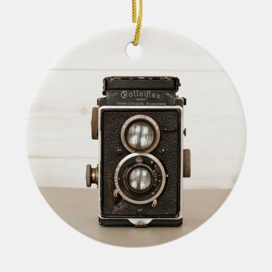 Vintage Rolleiflex Twin lens camera Christmas Ornament ...