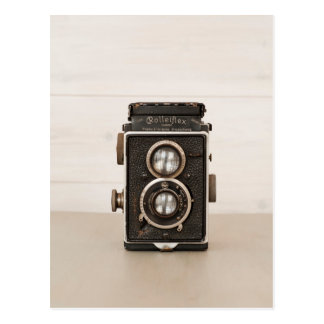 Vintage Rolleiflex Twin lens camera Postcards