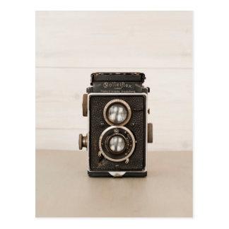 Vintage Rolleiflex Twin lens camera Postcard