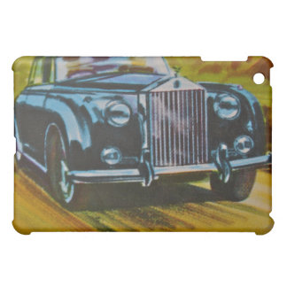 Vintage Rolls Royce Car iPad Case