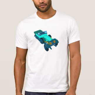 Vintage Rolls Royce Silver Ghost Pop Style Art T-Shirt