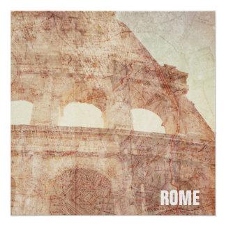 Vintage Roman Colosseum