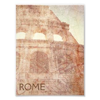 Vintage Roman Colosseum Photo Print
