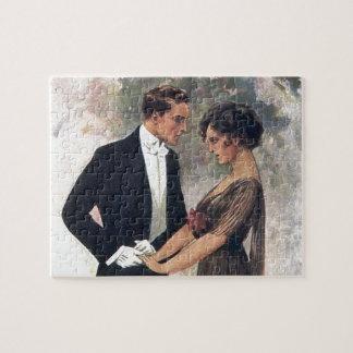 Vintage Romance Puzzle