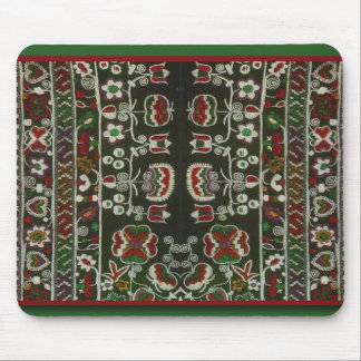 Vintage Romanian embroidery Mouse Pad