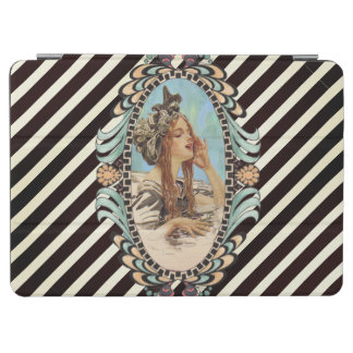 Vintage, Romantic & Modern Woman iPad Air Cover