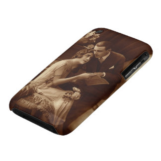 Vintage Romantic Music, Love and Romance Lovers Case-Mate iPhone 3 Case