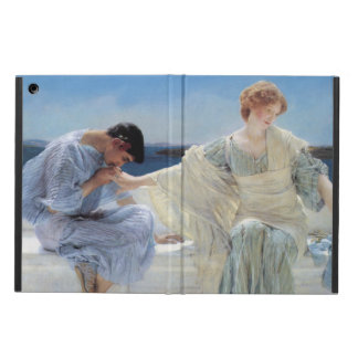 Vintage Romanticism, Ask Me No More by Alma Tadema iPad Air Cases