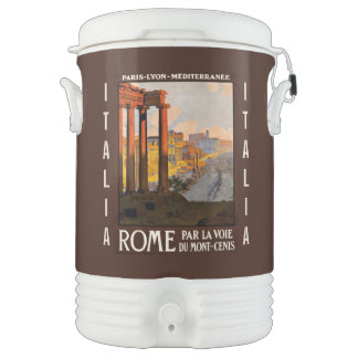 Vintage Rome custom beverage cooler