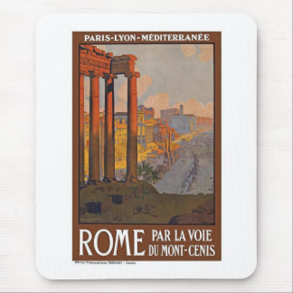 Vintage Rome Italy Mouse Mat