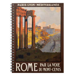 Vintage Rome Italy notebook