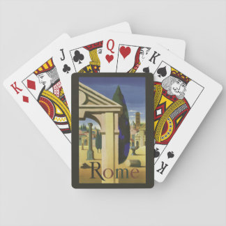 Vintage Rome Italy playing cards