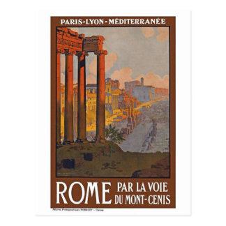 Vintage Rome Italy Postcard