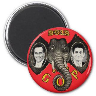 Vintage Romney Ryan 2012 6 Cm Round Magnet